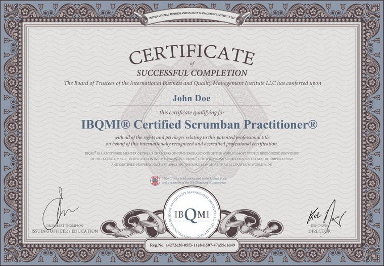 The original CERTIFIED SCRUMBAN PRACTITIONER®—the Best of